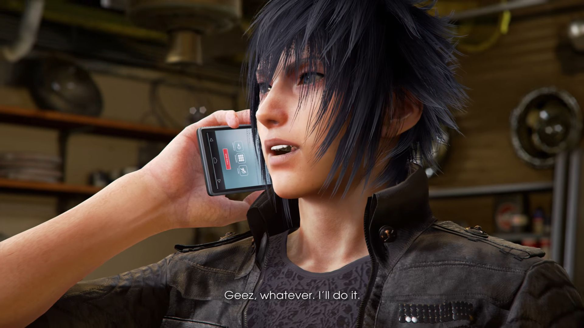 notcis, final fantasy xv