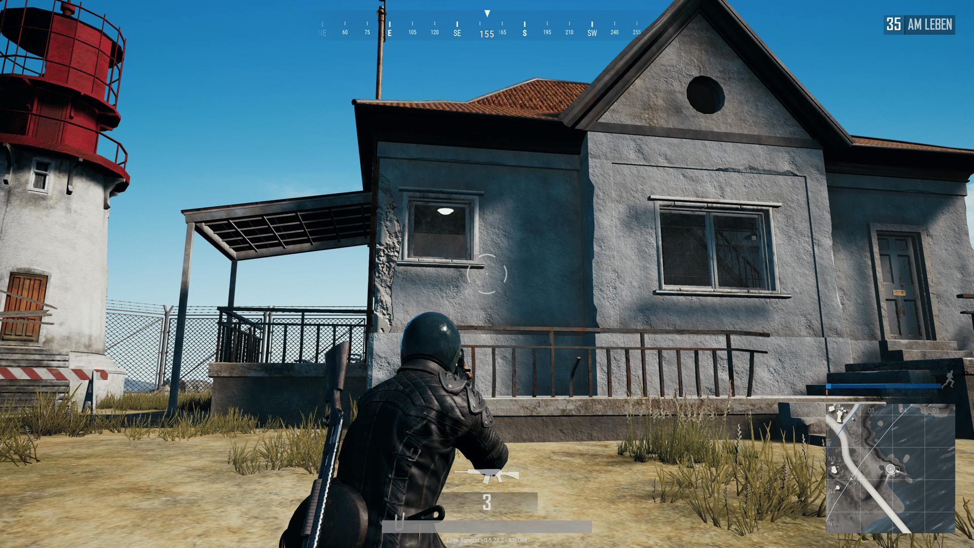 pubg casa gameplay