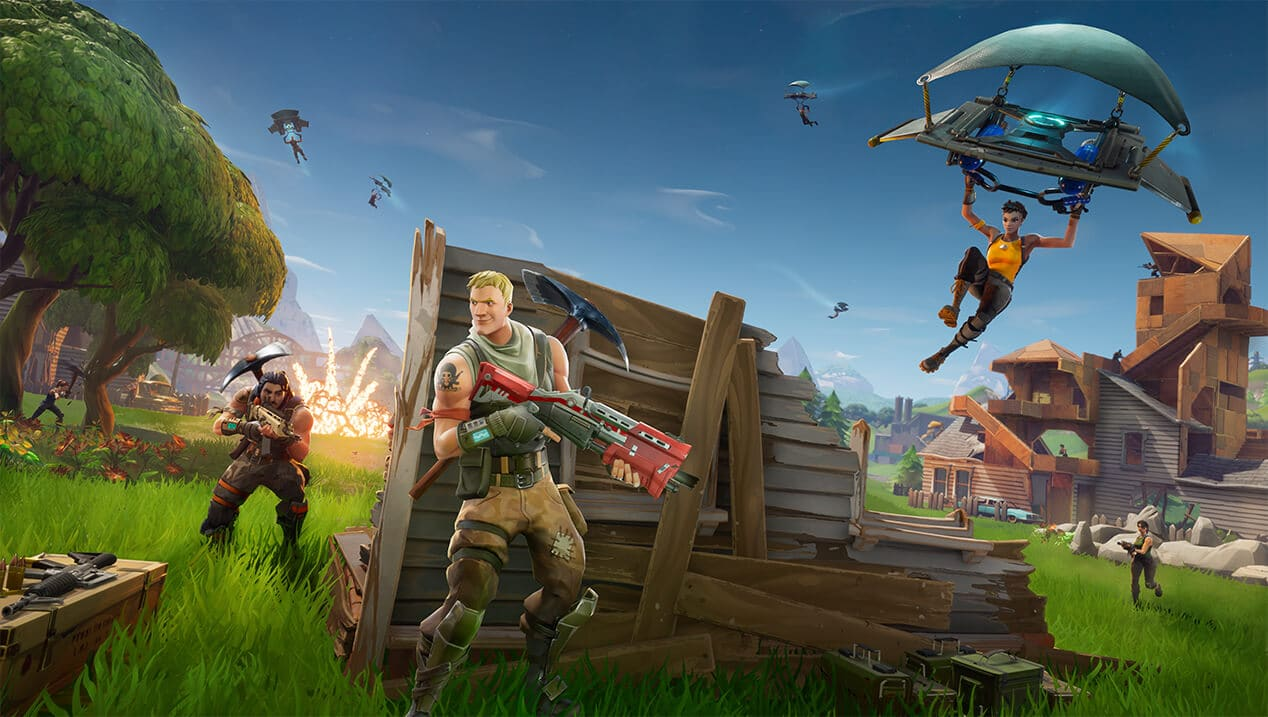 Anunciado Fortnite Battle Royale para iOS y Android
