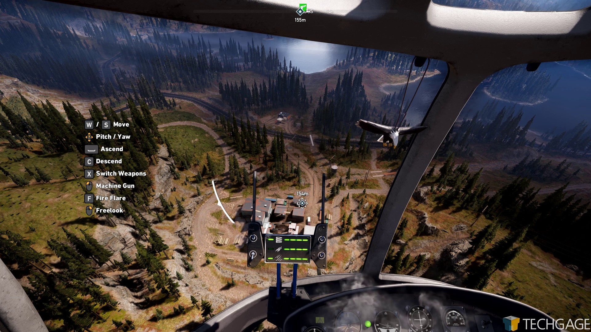 El mapa de Far Cry 5 es gigantesco.
