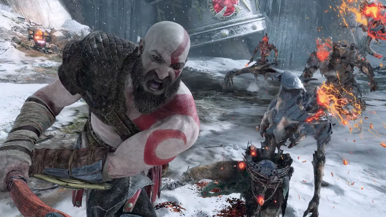 God of War ya está disponible para pre-carga.
