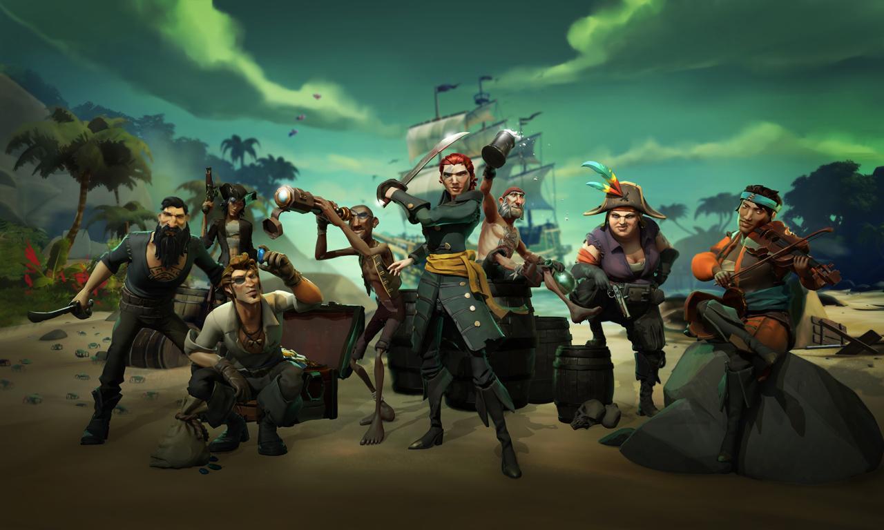 Sea of Thieves se corona como el segundo juego más vendido de marzo.