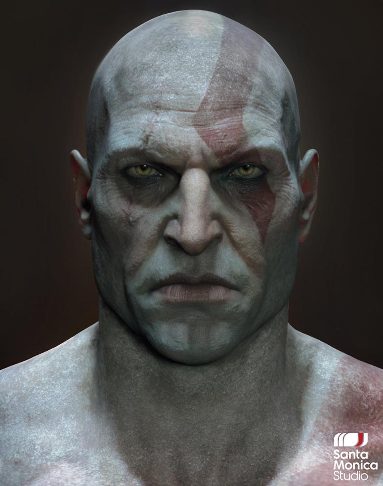 Kratos sin barba, qué horror.