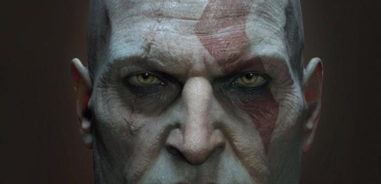 Kratos luce horrible sin barba, sólo veánlo.