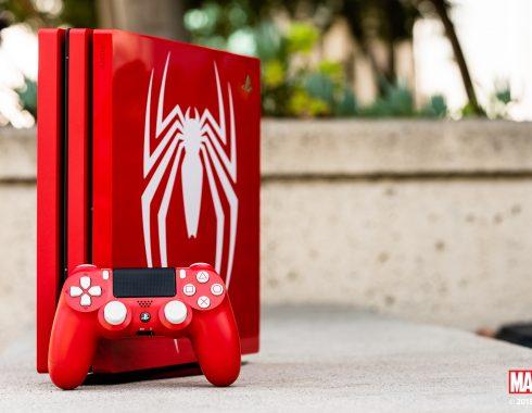 PS4 Pro edición Spider-Man